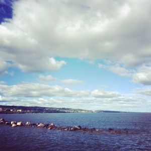 Trying to relax in Duluth